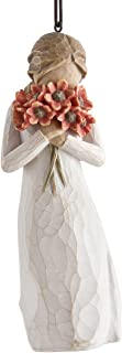 Willow Tree hand-painted sculpted Ornament, Surrounded by Love (27274)