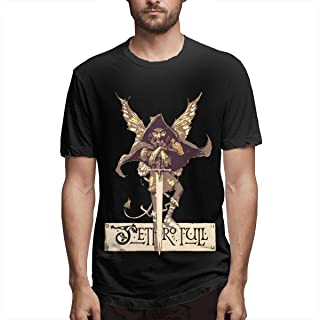Hot Men's Jethro-Tull T-Shirt - DIY Stylish Short Sleeve Printed Tees Comfotable