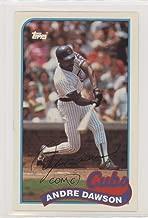 Andre Dawson (Baseball Card) 1989 Topps/LJN Baseball Talk - [Base] #78
