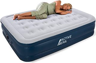Active Era Air Bed - Premium King Size Airbed with a Built-in Electric Pump and Pillow (Queen)