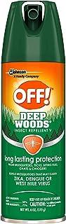 OFF! Deep Woods Insect Repellent V 6 oz (6)
