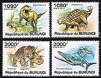 【恐竜・古生物】ブルンジ2011年4種完