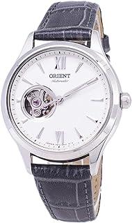 ساعة اوتوماتيك اوبن هارت الاوتوماتيكية بقلب مفتوح وسوار جلدي من اورينت، طراز RA-AG0025S00C