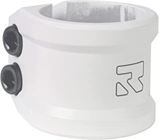 Root Industries Lithium Scooter Clamps - Pro Scooter Double Clamp - Compatible with Standard/Oversized Handlebars 2-Bolt 6mm Compression for Trick Scooter - All Hardware Included - Scooter Parts