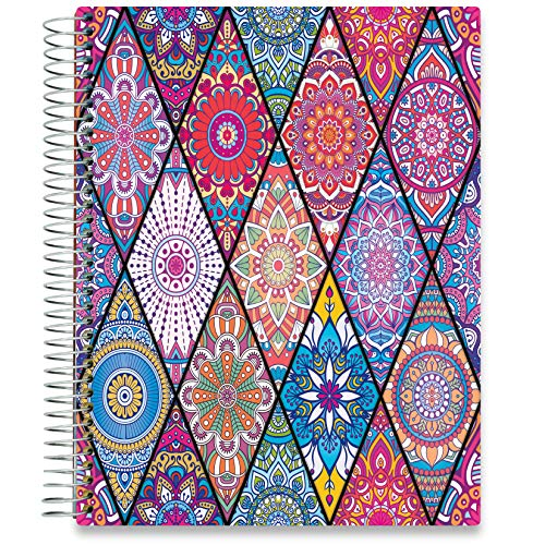 Tools4Wisdom 2021 Planner - Including December 2020 through December 2021 Calendar Year - Full Color - Vertical Weekly Planner Layout, Monthly Planner Tabs and Stickers - Q4SJ - 8.5 x 11 Hardcover