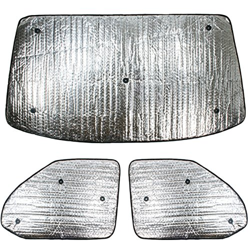Summit sum-1636 Thermo Rollo-Set passend für Volkswagen T5 (2003–2016) Set, 3-teiliges Set