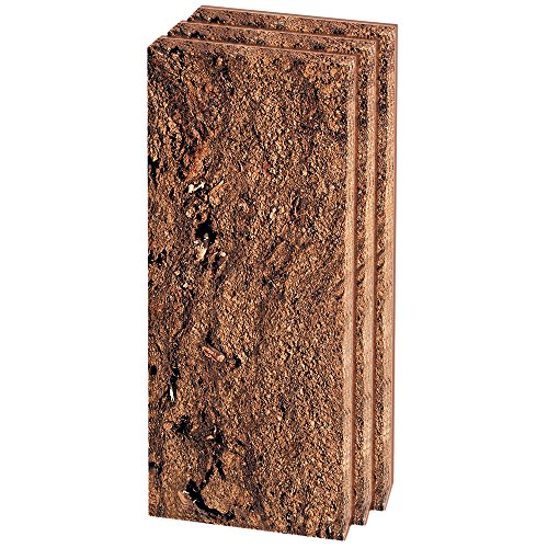Hobby Torfplatten (ca. 8 x 20 x 1,8 cm), 3 Stück, Bodengrund für Aquarien und Terrarien, 40900