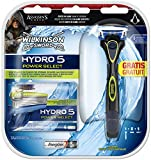 Bild des Produktes 'Wilkinson Sword Hydro 5 Power Select Vorteilspack Assassin's Creed, 5 Klingen plus Rasierer'