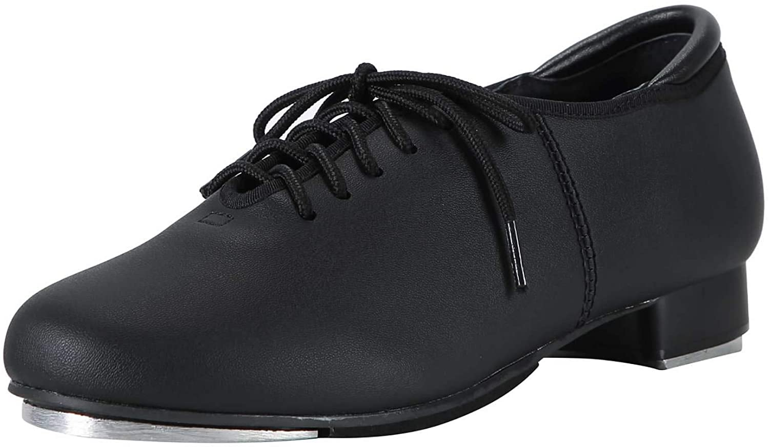 Linodes PU Leather Lace Up Tap Shoe Dance Shoes for Women and Men's Dance Shoes