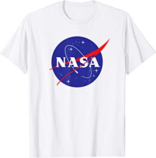 NASA Shirt, New Meatball Logo Insignia Symbol Graphic T-Shirt