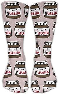 Delicious Nutella Unisex Casual Stockings Sport Athletic Crew Socks