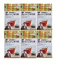 南雲先生が推奨する 国産 焙煎 健康ごぼう茶6袋