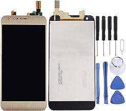 شاشة الهاتف المحمول LCD for LG X Cam / K580 / K580I / K580Y LCD Screen and Digitizer Full Assembly(Gold) شاشة عرض من الكريستال السائل (Color : Gold)