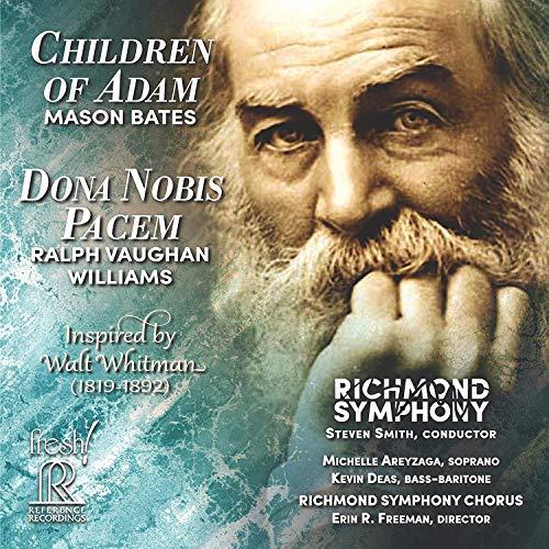 Bates: Children Of Adam [Richmond Symphony; Richmond Symphony Chorus; Michelle Areyzaga; Kevin Deas; Steven Smith; Erin R. Freeman] [Reference Records: FR-732]