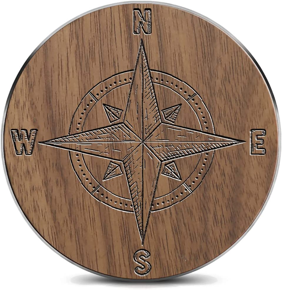 15w Wooden Round Soldering Fast Wireless Charger Max 75% OFF Carve Laser for Suitable