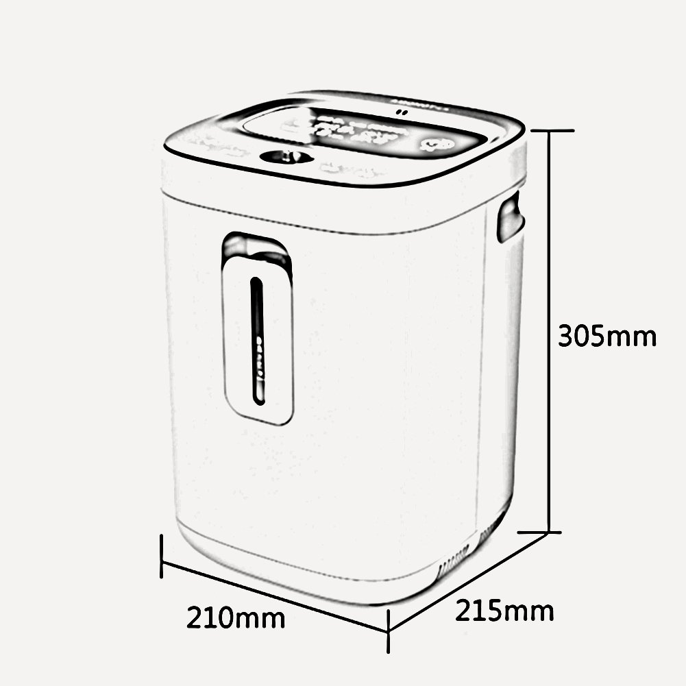 LSX Concentrador de oxígeno Concentrador de oxígeno: concentrador ...