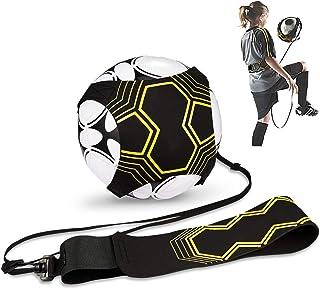 Hitasche Fußball Kick Trainer Solo, Football Einstellbar Fußballtraining Taille Gürtel für Anfänger Kick Off Trainer und Kinder