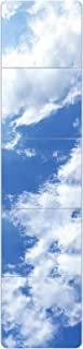 arttranson 姿見鏡 全身ミラー 壁掛け鏡 飛散防止 インテリア フロートガラス DIY式 枠無し 丸角 26x26cmx5枚