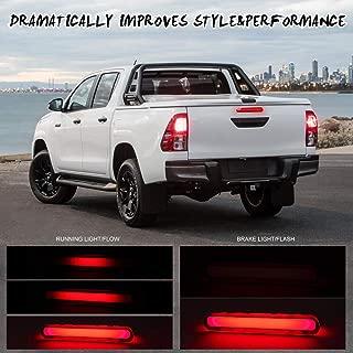 1pc xiegons0 Voiture Hayon Gas Assistance Slowdown V/érins pour Toyota Hilux Revo M70 M80 2015 Ext/érieur Pi/èces Remorquage Hauling Noir