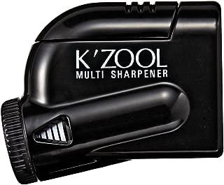 Kutsuwa STAD Angle Adjustable Pencil Sharpener K'ZOOL, Black (RS018BK)