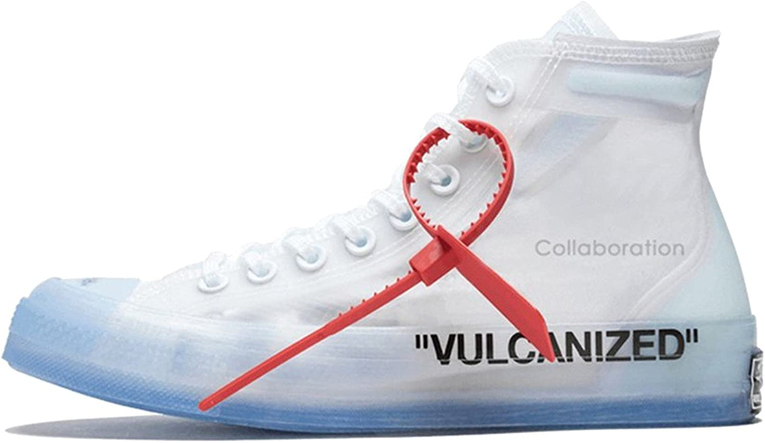 Fashion All Star Chuck Off White taylor Canvas Translucent Sneaker with Original Box