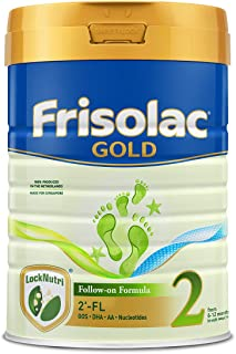Frisolac Frisolac Gold Stage 2 2'-FL Follow-On 900g - Infant Newborn Baby Milk Formula for 6-12 months, 900 900 grams