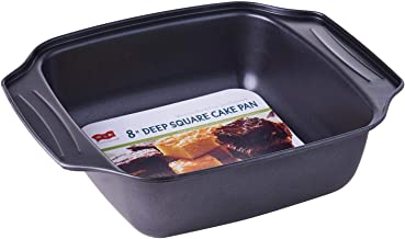 My Way BWR20 20cm Square Cake Pan,Black