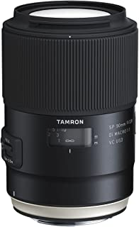 Tamron SP 90mm F/2.8 Di VC USD 1:1 Macro Lens for Nikon Cameras (Tamron 6 Year Limited USA Warranty)