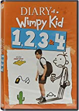 Diary of a Wimpy Kid Complete Film Series: Special Edition (Original, Rodrick Rules, Dog Days & The Long Haul) - Loaded w/ Special Features + Bonus Animated Wimpy Kid Short Film! (with Digital Copy)