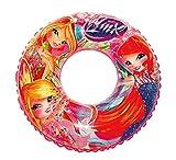 BEACH ART rosquilla Linea Winx, Anillo Playa Hinchable niña, Rosa, 76cm diámetro