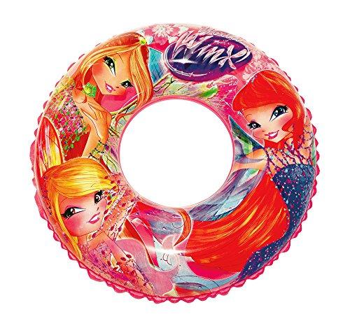 Beach Art Donut Linie Winx, Ring Meer aufblasbar Mädchen, Pink, 76cm Ø