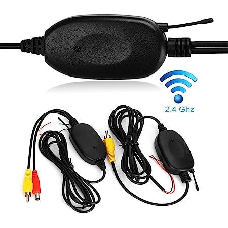 2 4ghz Wireless Video Rückfahrkamera Rca Video Sender Elektronik