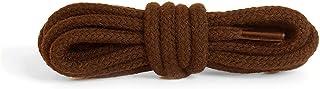 Kaps Round Thick Shoe Laces, 5-6mm diameter, 100% cotton, many colours lengths
