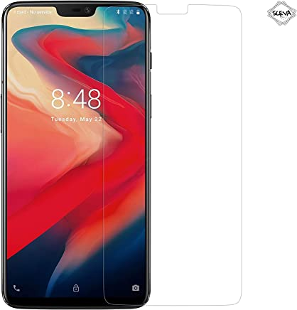 Sceva Present Edge2Edge HD Clear Tempered Glass Screen Protector for OnePlus 6 (Transparent)