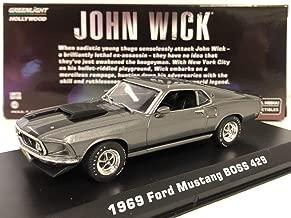 Greenlight 86540 1: 43 John Wick (2014) - 1969 Ford Mustang Boss 429 Die-cast Vehicle, Multicolor