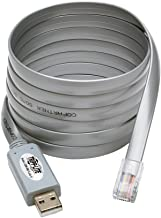Tripp Lite USB to RJ45 Cisco Serial Roll over Cable USB Type A RJ45 M/M 6 ft (U209-006-RJ45-X)