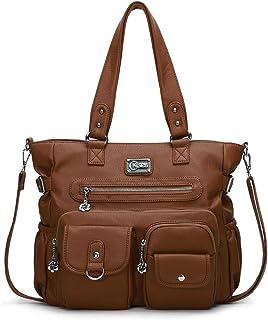 KL928 Handtasche Damen Tasche Umhängetasche Schultertasche Damentaschen gross für Damen Frauentasche PU Leder Damenhandtas...