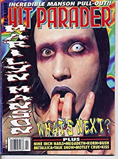 Hit Parader Magazine MARILYN MANSON Human Waste Project KORN Nine Inch Nails SWEET 75 Gavin Rossdale MISFITS February 1998 C