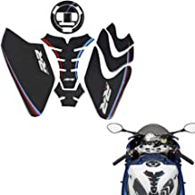 PRO-KODASKIN Real Carbon Gas Cap Fuel Tank Cover Protection Sticker for BMW S1000RR HP4