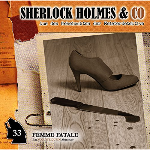 Femme Fatale audiobook cover art