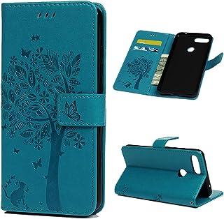 Tosim Xiaomi Mi 8 Lite H/ülle Leder TOKTU080209 Grau Klapph/ülle mit Kartenfach Brieftasche Lederh/ülle Stossfest Handy H/ülle Klappbar f/ür Xiaomi Mi8 Lite