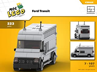 Ford Transit (Instruction Only): MOC LEGO