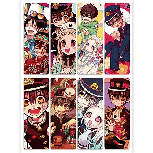 rolalo Anime wc gebonden Hanako kun Haikyuu transparant PVC bladwijzer kaart Sticker Hot cadeau voor fans 1.H02