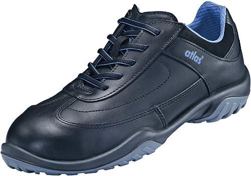 Atlas Chaussures basses de sécurité SN 20largeur de noir, S2, 12, Taille 46