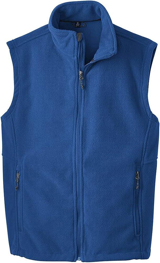 Joe's USA Supersoft Fleece Vest-XL-TrueRoyal