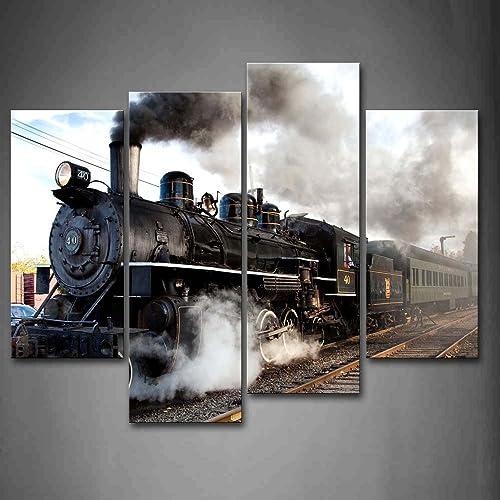 Train Painting: Amazon.com