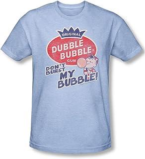 Shirt Hot Chew Adult Ringer T Dubble Bubble