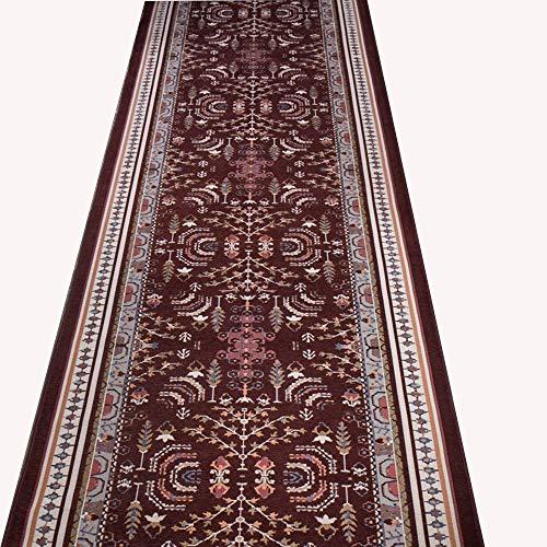 Area Tapijten HAIZHEN Corridor tapijt traditionele bloem wasvrije gangpad beschermende deken, 1500 g per vierkante meter, 16 maten