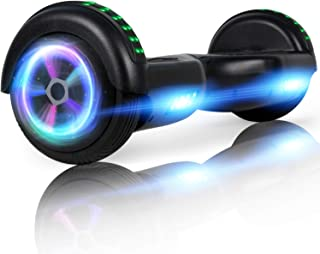 """LIEAGLE Hoverboard, 6.5"""" Self Balancing Scooter Hover Board with Wheels LED Lights for Kids Adults"""