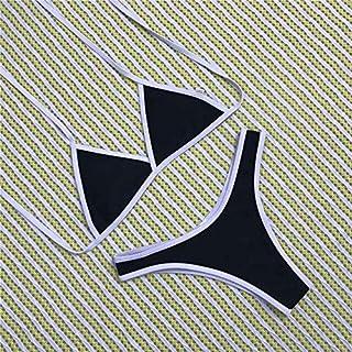 BEESCLOVER Solid Bikini Set Swimsuit Women Triangle Swimwear Two Pieces Bathing Suit Biquini Swimming Suit for Women